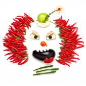 Chilli clown. — Stock Photo