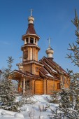 Wooden Churches of Russia — Stock Photo