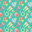 Wedding seamless pattern — ストックベクタ #70827175