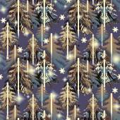 Forest  pattern — Stock Photo