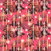 Pink    forest  pattern — Stock Photo
