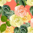 Roses seamless pattern — Stock Photo #58795185