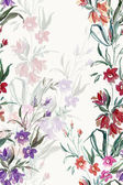 Meadow wildflowers pattern — Stock Photo