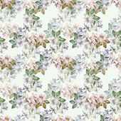 Flowers apple seamless pattern — Stock Photo