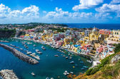 Procida beautiful island — Stock Photo