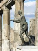 Apollo statue in ancient roman city — Stock Photo