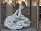 Pompeii men petrified — Stock fotografie