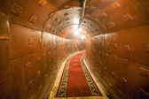Russian underground tunnel — Stock Photo