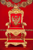 The great imperial throne in Russia — Stock Photo