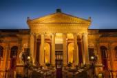 Maximum theater in Palermo — Stock Photo