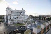 Altare della patria Rome — Stock Photo