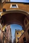 Via dei greci Rome — Stock Photo