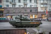Armata T-14 main russian battle tank — Stock Photo
