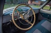 Vintage car interior GAZ M21 Volga — Stock Photo
