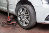 Tire repairer — Stock Photo
