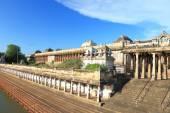 Massive ancient temple complex chidambaram tamil nadu india — Stockfoto