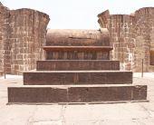 Aincent arches and tomb bijapur Karnataka india — Stock Photo