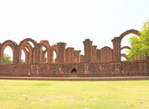 Aincent arches and ruins bijapur Karnataka india — Stock Photo