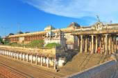 Massive ancient temple complex chidambaram tamil nadu india — Stock Photo
