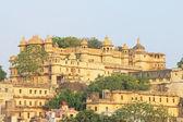 City palace udaipur rajasthan india — Stock Photo