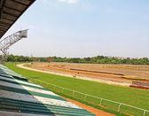 Racecourse och stativ pune tamil nadu Indien — Stockfoto