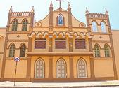 Convent and nunnery poducherry tamil nadu india — Stock Photo