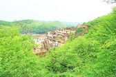 Ancient bundi fort and palace india — Stock Photo