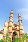 Fort and towers at Pavagadh Archaeological Park World Heritage Site Panchmahal district Gujarat india — Stock Photo