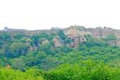 Massive Chittorgarh Fort and grounds rajasthan india — Stock Photo