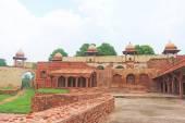 Massive Fatehpur Sikri fort and complex Uttar Pradesh India — Stock Photo