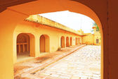 Enchanting Nahargarh fort jaipur rajasthan india — Stock Photo