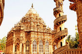 Mausoleum of the Wazir of Junagadh, Mohabbat Maqbara Palace juna — Stock Photo
