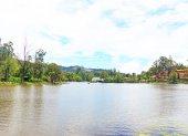Kodaikanal lake tamil nadu india — Stock Photo