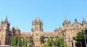 Old colonial style building mumbai india — Stock Photo