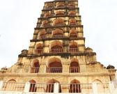Brihadeshwara 寺院、庭園、タンジョール タンジャーヴール タミル ・ ナードゥ州私 — ストック写真