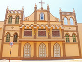 Convent and nunnery poducherry tamil nadu india — Stock Photo