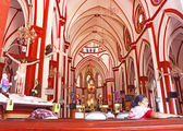 Sacred Heart Church ponducherry tamil nadu india — Stock Photo