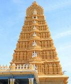 Towering gopuram india — Stock Photo