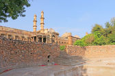 Ancient buildings at Pavagadh Archaeological Park  World Heritage site — Stock Photo