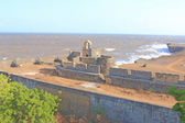 Beautifully maintained fort diu gujarat india — Stock Photo