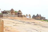 Breathtaking and huge Hampi  UNESCO World Heritage Site Karnatak — Stock Photo