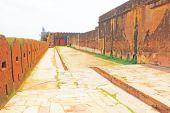 Amer Amber fort a Palace jaipur rajasthan Indie — Stock fotografie