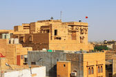 Inside jaisalmer fort india — Stock Photo