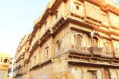 Ancient buildings around jaisalmer india — Stock Photo