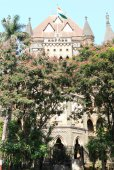 Old colonial style building mumbai india — Stockfoto