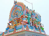 Colorful shrine and temple india — Stock Photo