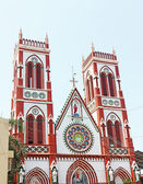 Sacred Heart Church ponducherry tamil nadu india — Zdjęcie stockowe