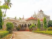 Aga Khan Palace pune tamil nadu india — Zdjęcie stockowe
