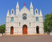 Roman Catholic Diocese of Poona pune tamil nadu india — Stock Photo