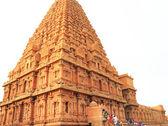 Brihadeshwara Temple and grounds, tanjore Thanjavur tamil nadu i — ストック写真